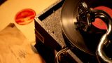 PHONOGRAPH stock footage