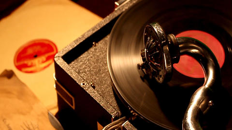 PHONOGRAPH Footage