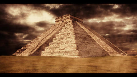 Mayan Temple Stock Video Footage