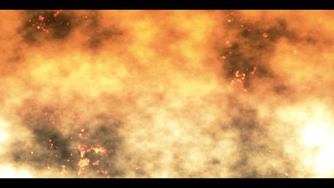 burning cinders Stock Video Footage