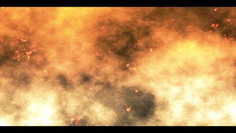 burning cinders Animation