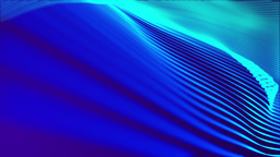 Blue Wavy Background, Loop Stock Video Footage