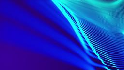 Blue Wavy Background, Loop Stock Video Footage