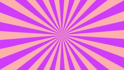 Zigzag Purple Sunburst, Loop Stock Video Footage