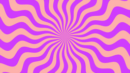 Zigzag Purple Sunburst, Loop Animation