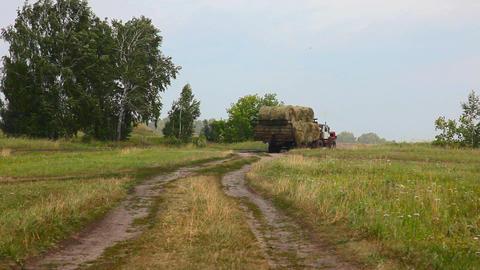 Big tractor Footage