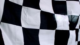 Checkered flag waving Footage