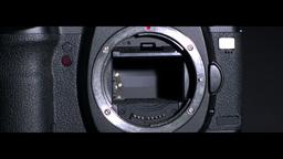 Black camera Stock Video Footage