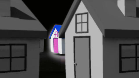 Finding the perfect house Animation