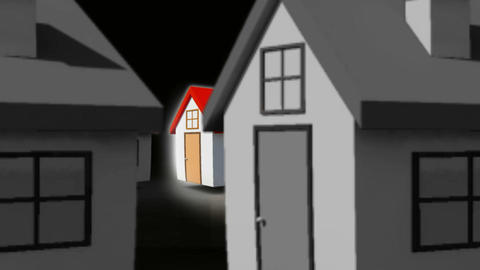 Finding the perfect home Animation