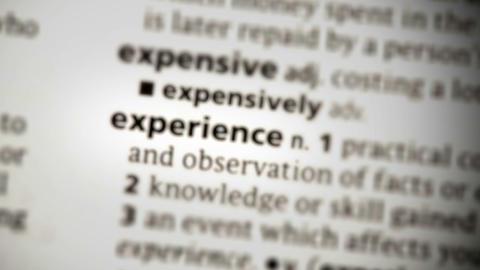 Focus on experience Footage