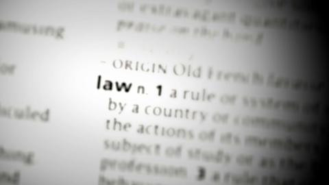 Focus on law Footage