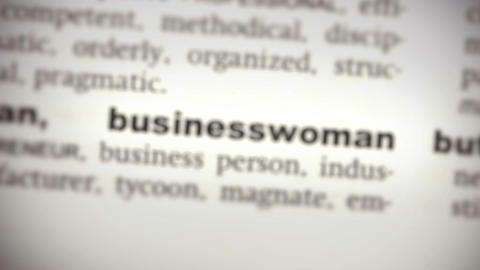 Focus on businesswoman Live Action