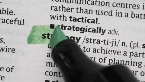 Strategy highlighted in green Live Action