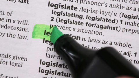 Legislation highlighted in green Live Action