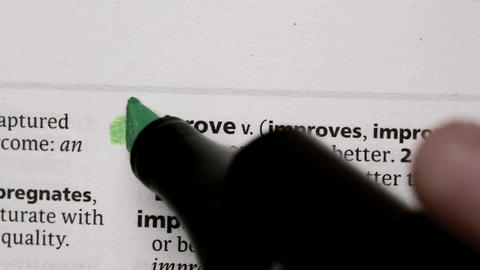 Improve highlighted in green Live Action