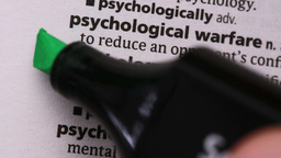 Psychology highlighted in green Live Action
