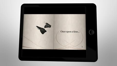 Fairy tale animation on digital tablet Animation