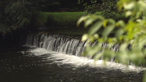 Video of idyllic waterfall Footage