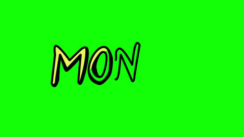 Animation of the word money appearing slowly Animation
