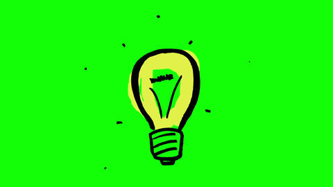 Fast gestating light bulb Animation