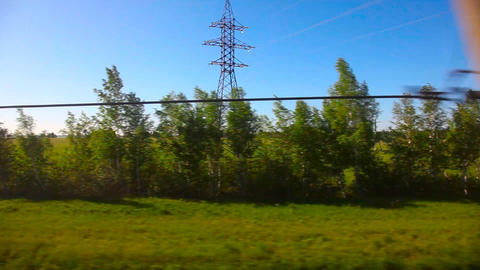 From train Footage