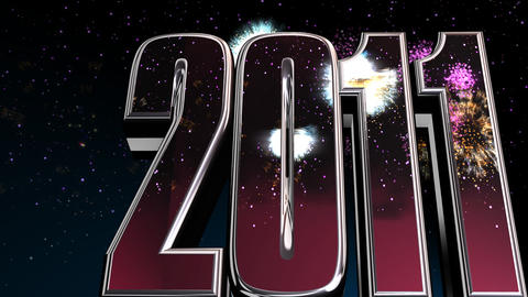 2011 fireworks Animation