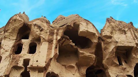 Cappadocia turkey nature cave fairy chimney miracle holiday tourism 10 Footage