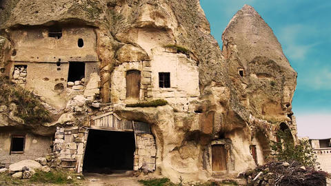 Cappadocia turkey nature cave fairy chimney miracle holiday tourism 14 Footage