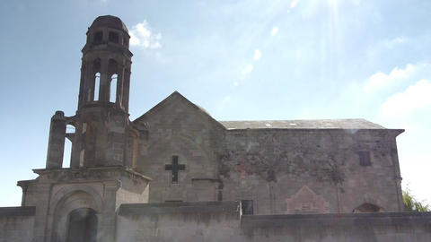 one of the first church of the world ever cappadocia turkey Stock Video Footage
