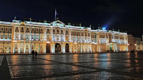 Palace Square Stock Video Footage