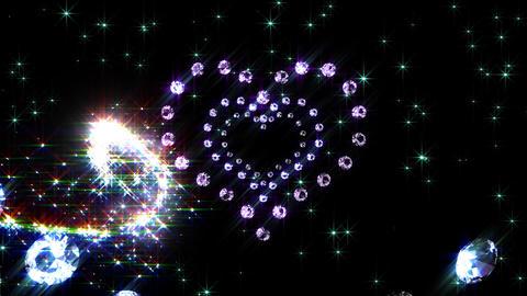 Heart Sparkle B4 HD Stock Video Footage