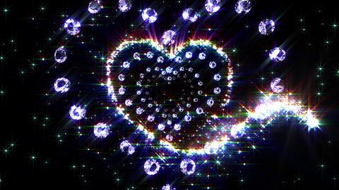 Heart Sparkle B4 HD Animation