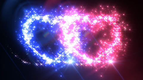 Heart Sparkle C3 Stock Video Footage