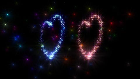 Heart Sparkle 3 D3 Animation