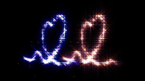 Heart Sparkle 3 E3 Stock Video Footage