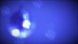 Blue Festive Background Stock Video Footage