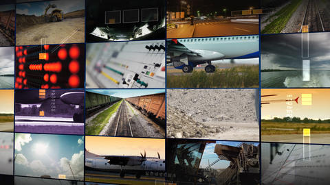 Transportation-1-1 Stock Video Footage