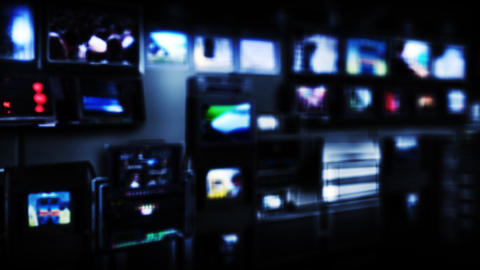 Virtual-studio-5-1 Stock Video Footage