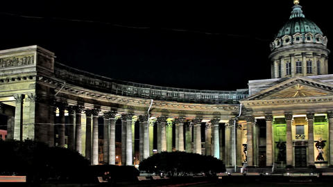 Kazan Cathedral Stock Video Footage