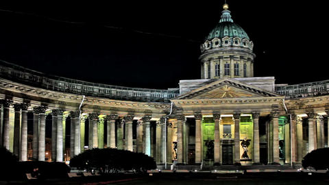 Kazan Cathedral Footage