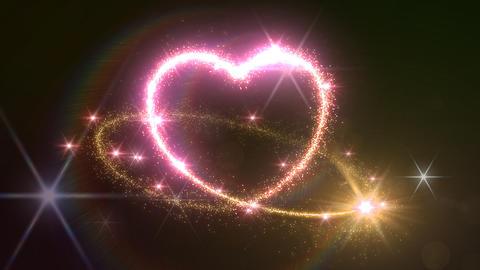 Heart Glitter 2 B2 Animation