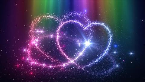 Heart Glitter 2 C2 Animation