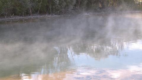 geothermal hot pool Footage