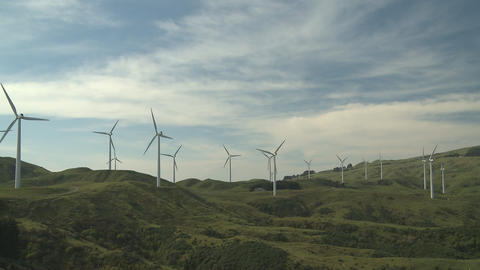 wind farm Stock Video Footage