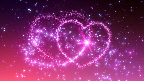 Heart Glitter 2 C3 Animation