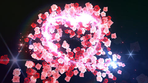 Heart Glitter 2 Rose BF3 Animation