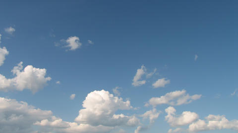 Time Lapse Clouds 2 Stock Video Footage
