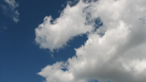 Time Lapse Clouds 6 Stock Video Footage