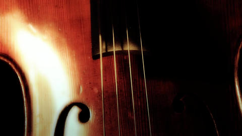 Cello 02 ARTCOLORED Stock Video Footage